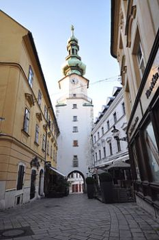 240px-Michael's_Gate_and_tower-Bratislava-Slovakia