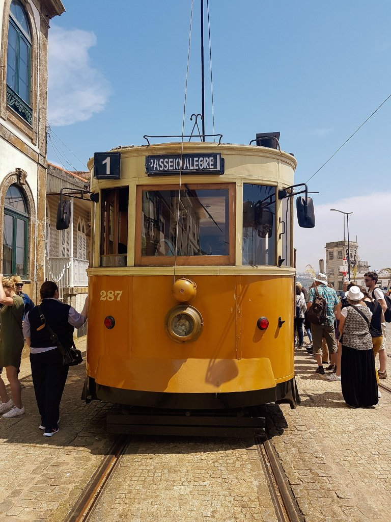 Historic Tram to the beach