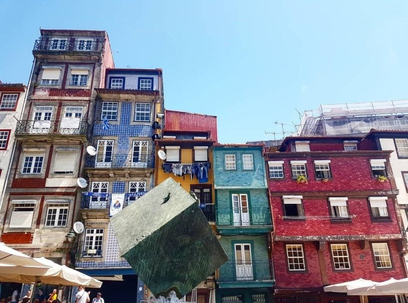 Colourful buildings and blue sky - Alternative Romantic Summer Destinations in Europe